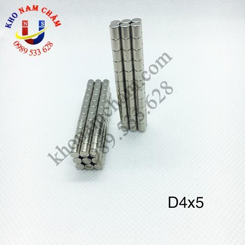 Nam châm viên D4x5 mm