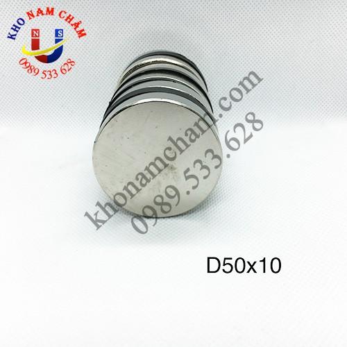 Nam châm viên D50x10 mm