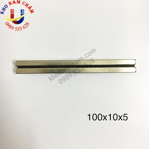 Nam châm viên 100x10x5 mm