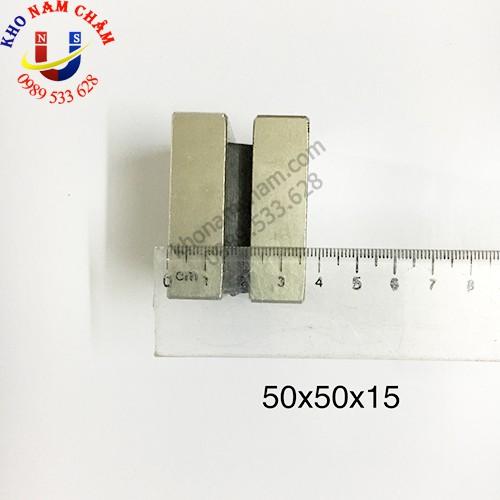 Nam châm viên 50x50x15 mm