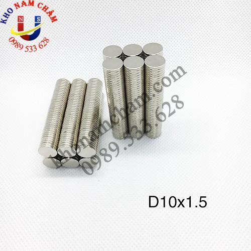 Nam châm viên D10x1.5 mm