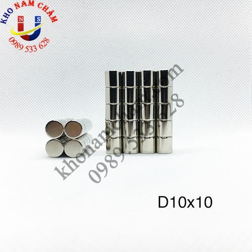 Nam châm viên D10x10 mm
