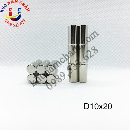 Nam châm viên D10x20 mm