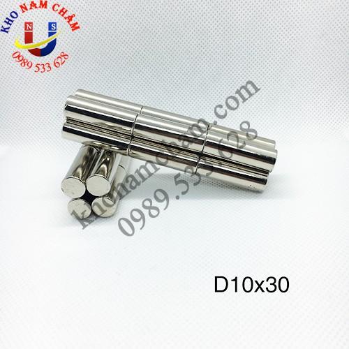 Nam châm viên D10x30 mm