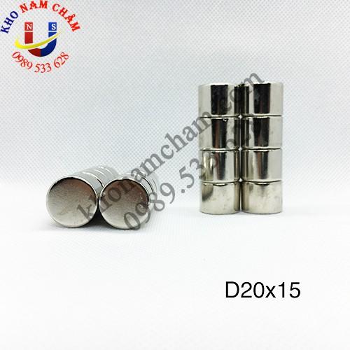 Nam châm viên D20x15 mm